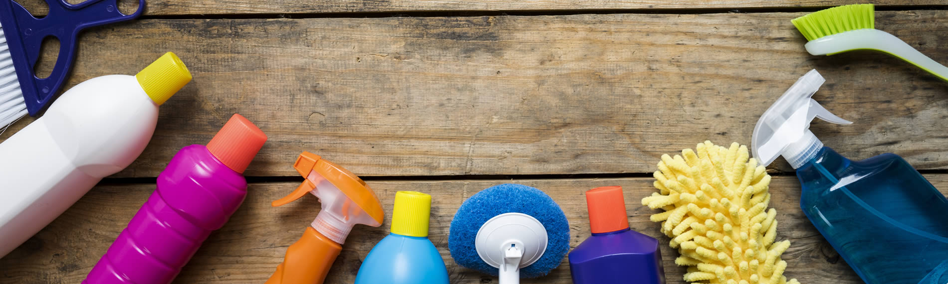 Cleaning materials for end-of-tenancy clean
